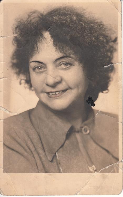 Meine Großmutter aus dem Jahr 1952